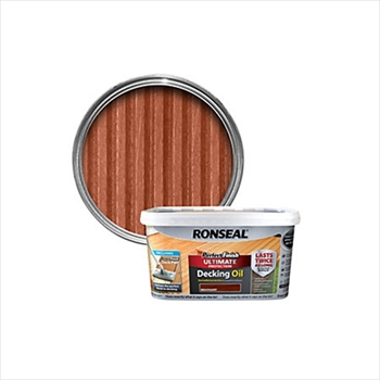 Ronseal Perfect Finish Ultimate Protection Decking Oil 2.5 Litre (Mahogany)