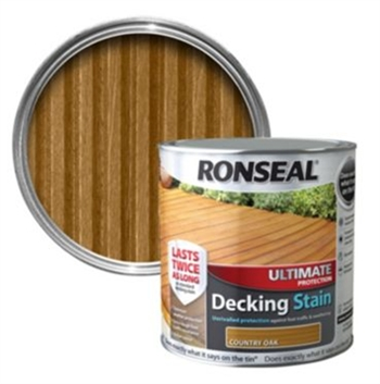 Ronseal Ultimate Protection Decking Stain 2.5L (Country Oak)