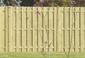Planed & Profiled Paling Fence Panel (1.83m x 1.5m)