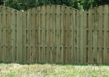 Double Sided Paling Fence Panel (1.83m x 1.5m)
