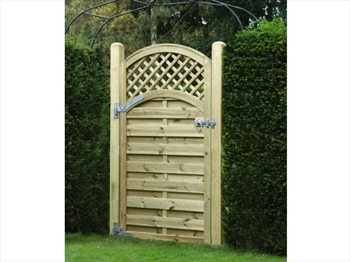 Arched Lattice Top Gate (0.9m x 1.8m)
