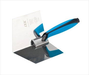 OX Pro Dry Wall Internal Corner Trowel (102mm x 127mm)