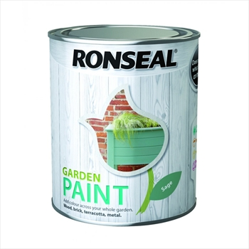 Ronseal Garden Paint 2.5 Litre (Purple Berry)