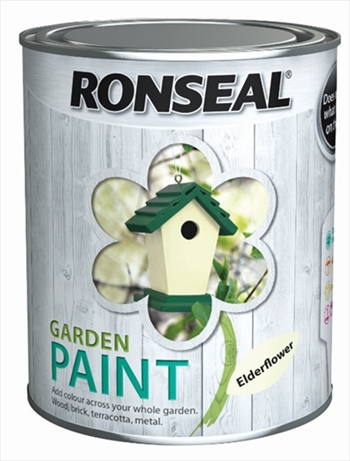 Ronseal Garden Paint 750ml (Blackbird)