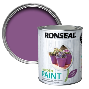 Ronseal Garden Paint 750ml (Purple Berry)
