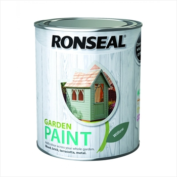 Ronseal Garden Paint 250ml (Blackbird)