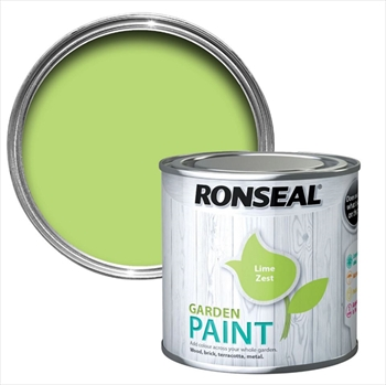 Ronseal Garden Paint 250ml (Lime Zest)