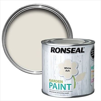 Ronseal Garden Paint 250ml (White Ash)