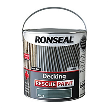 Ronseal Rescue Paint 2.5 Litre (Charcoal)