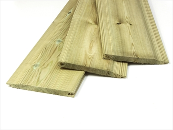 Cut to size - Treated Shiplap / Cladding (14mm x 120mm)