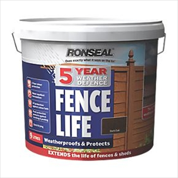 Ronseal 5 Year Weather Defence Fence Life 5 Litre (Red Cedar)