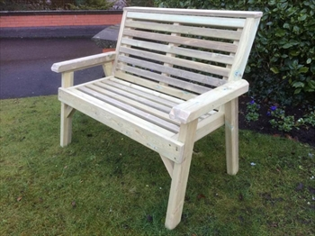 Valley 2 Seater Garden Bench