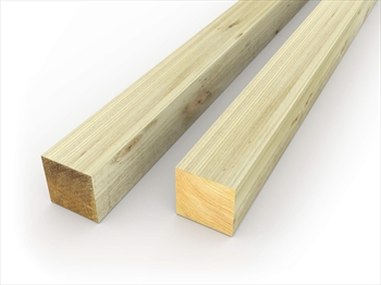 "1200mm 3""x3"" Fence Posts"