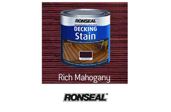 Ronseal Deck Stain Mahogany (2.5 litre)