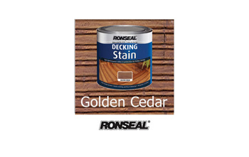 Ronseal Deck Stain Cedar (2.5 litre) 25% EXTRA FREE
