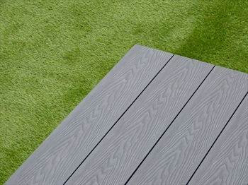 Sample - Evergrain Ultimate Grey Composite Decking (140mm x 21mm)
