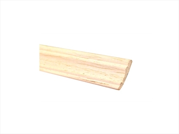 Light Hardwood Panel Moulding (21mm x 5mm x 2400mm)