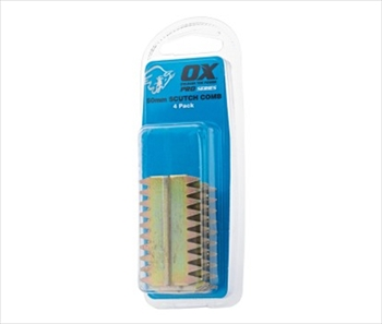 OX Pro Scutch Combs 4PK (25mm)