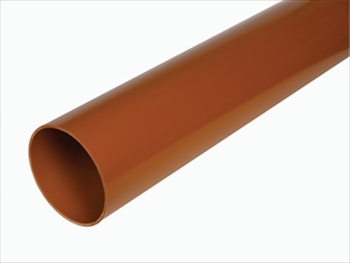 160mm Underground PVC Pipe 3m