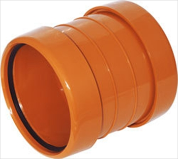 160mm Underground PVC Coupler