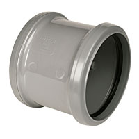 Grey Soil Socket 110mm