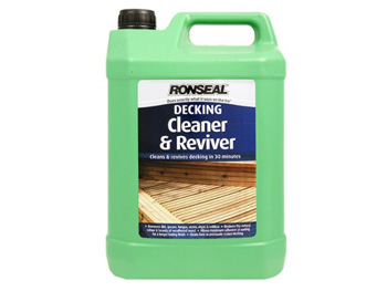 Ronseal Decking Cleaner & Reviver (5 litre)
