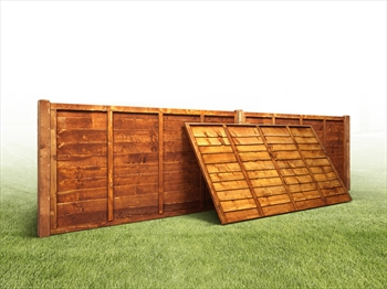 Overlap Fence Panel (6ft x 4ft)