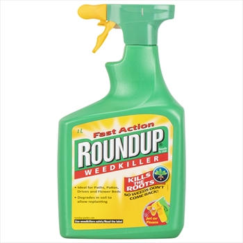 Roundup Spray Ready To Use 1ltr Weed Killer