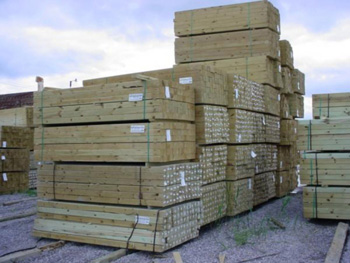 "3000mm 8""x8"" Fence Posts"