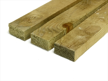 "Rough Sawn Treated Timber (2"" x 1"")"