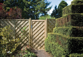 Elite Chevron Gate (0.9m x 1.8m)