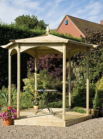 The Budleigh Gazebo - Frame Only
