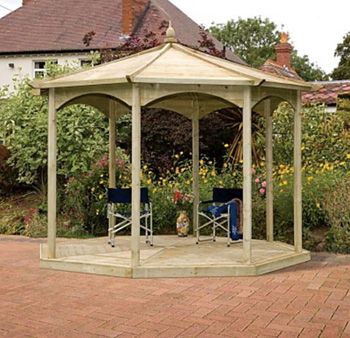 The Regis Bandstand Gazebo - Frame Only