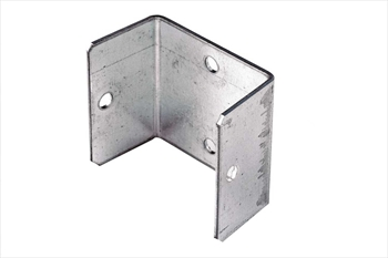 Galvanised Fence Panel Clip (46mm)