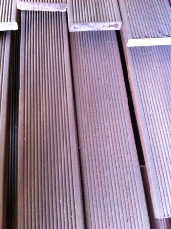 Dusty Hardwood Balau Decking (90mm x 19mm)