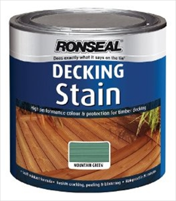 Ronseal Deck Stain Green (2.5 litre)