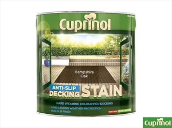 Cuprinol Deck Stain Ultra Tough Hampshire Oak (2.5 litre)