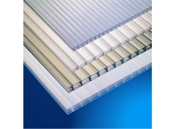 Clear 6mm Twinwall Polycarbonate (6000mm x 2100mm)