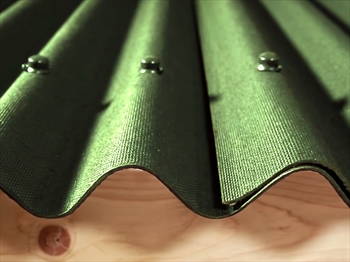 Green Onduline Bitumen Sheet (3.0mm)