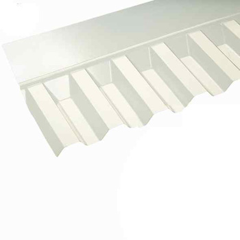 Box Profile PVC Wall Flashing (Clear - 736mm)