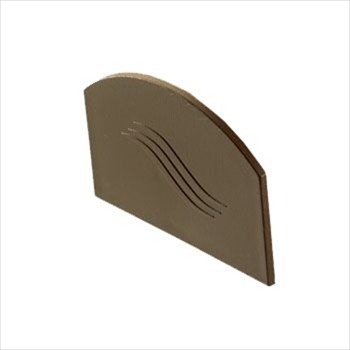 Brown Glazing Bar End Cap