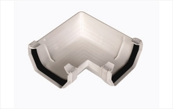 Square Gutter Angle 114mm (90 Degree)