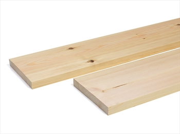Planed Square Edge Timber (150mm x 25mm)