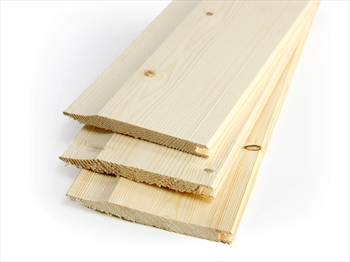 Untreated Shiplap / Cladding (12mm x 120mm)