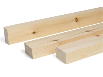 Planed Square Edge Timber (75mm x 50mm)