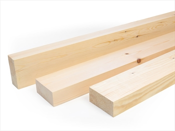 Planed Square Edge Timber (100mm x 50mm)