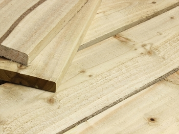 "Rough Sawn Treated Timber (4"" x 1"")"