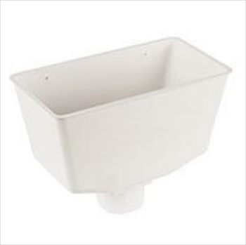 Square Rainwater Hopper Head 65mm