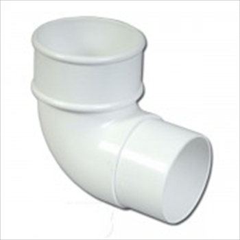 Round Downpipe Bend 68mm (90 Degree)