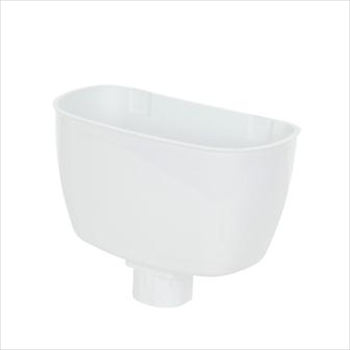 Round Downpipe Rainwater/Hopper Head 68mm